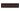 List ´Crown´ 152x34 mm, Teapot Brown