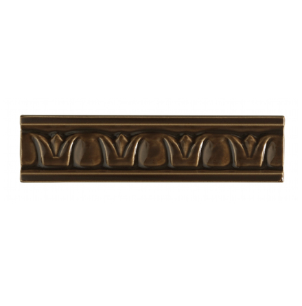 List ´Crown´ 152x34 mm, Chocolate