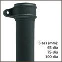 Gjutjärn Svanhals - 533-610 mm offset