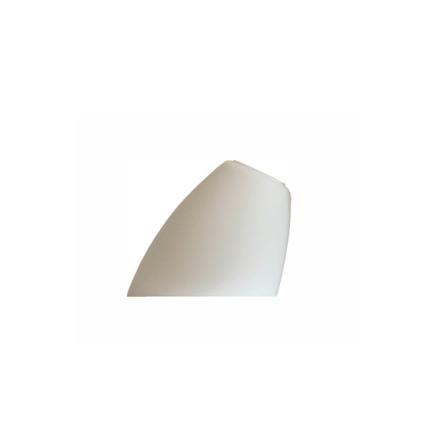 Hålskärm matterad opal 130x155mm