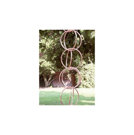 Koppar - Regnkedja ´Double link´ längd om 2,5 m